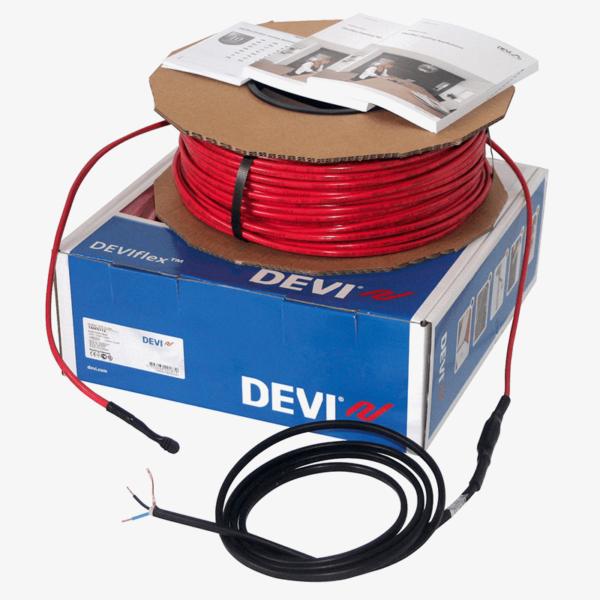 deviflex18t 600x600 Розрахунок теплої підлоги в стяжку