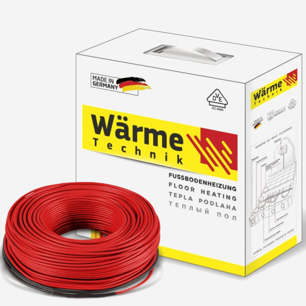 warme twin flex cable 600x600 Розрахунок теплої підлоги в стяжку